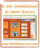Site institutionnel 6000 leurres : r�cits, d�mos, tests de notre mat�riel de p�che
