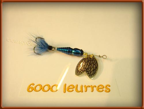Mepps Cuiller Bug Iron Blue